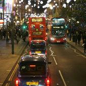 2013 年、オックスフォード ・ ストリートとクリスマス デコレーション — ストック写真