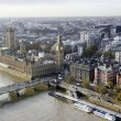 London skyline seen from London Eye — Stock fotografie #37080975