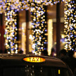 London Taxi with Christmas Decoration. — Stock Photo #37150813