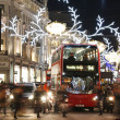 2013, Regent Street with Christmas Decoration — Stock Photo #37571001