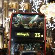 2013, Regent Street with Christmas Decoration — Stock Photo #37571361