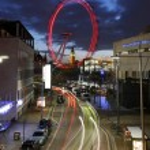 Постер, плакат: View of The London Eye with Big Ben