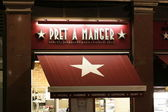 Pret a Manger, Charing Cross, London — Stock Photo