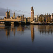 London skyline, Westminster Palace — Stock fotografie