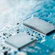 Computer electronic circuit board background — Stock Photo #16530373
