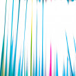 Striped colorful abstract background with cocktail straws — Stock Photo