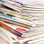 Stack of magazines — Stock Photo #45529991