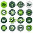 Royalty-Free Stock Vector Image: Eco label set