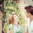 Young couple having fun in the park — Stock Photo #12705756