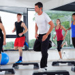 Aerobics Class in Gym — Stock Photo #15717103