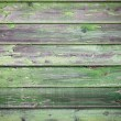 Green painted wood background — Stock Photo #12018442