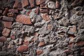 Endommagé fond de texture de mur en pierre — Photo