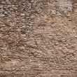 Stock Photo: Very old stone wall texture. Dark edged