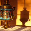 Stock Photo: Russitraditional samovar