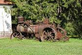 旧生锈农业拖拉机 — 图库照片