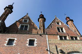 View from the boat in Brugge, Belgium — Stock Photo