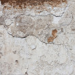 Plaster wall badly damaged — Stock Photo