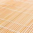 Stock Photo: Japanese mat, texture of Japanese mat to make sushi