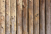 Old weathered painted wood wall background — Stock Photo