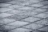 Rock gekachelte gepflasterte straße — Stockfoto