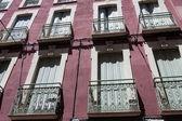 Balcony and windows of spain — Stock Photo