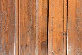 Orange painted wood wall background — Stock Photo