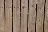 Old wood cracked fence texture — Stock Photo