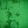 Green plaster background wall — Foto Stock