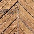 Weathered painted wood wall background - Stock Photo