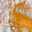 Badly damaged plaster wall background — Stock Photo