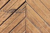 Weathered painted wood wall background — Stock Photo