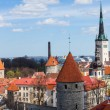 View on ancient Tallinn — Stock Photo