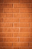 Decorative design facade brick wall — Stock Photo