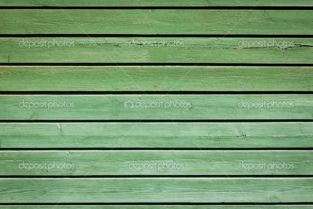 Green olive old painted wooden background  Stock Photo #12501969