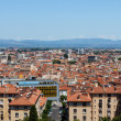 City panorama of Perpignan buildings  — Stock Photo
