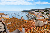 Aerial view of Cadaques, Costa Brava, Spain — Stock Photo