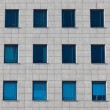 Windows of the multi-storey building — Stock Photo