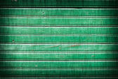 Groene geschilderde houten achtergrond — Stockfoto