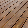 Wet terrace brown wood floor — Stok Fotoğraf #12888754