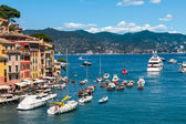Portofino village, Ligurian Coast, Italy — Stock Photo