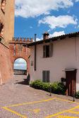 Barolo village of Italy — Стоковое фото