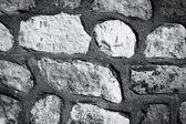 暗刃灰色背景墙 — 图库照片