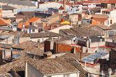 город вид здания в испании — Стоковое фото
