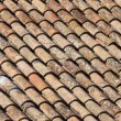 Old roof tiles pattern - Stok fotoraf