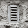Ventilation window on wall — Stock fotografie