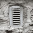 Ventilation window on wall — Stock Photo