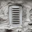 Ventilation window on wall — Stock Photo #14028387