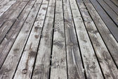 Aged wooden floor — Stock Photo