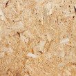 Recycled compressed wood chippings board — Stock Photo #15684515