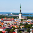 Stock Photo: Old Tallinn summer view